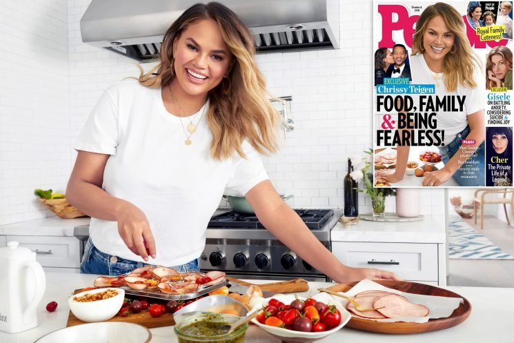 Chrissy Teigen Opens Up About Food, Family, and Wanting a 'Ton of Kids'