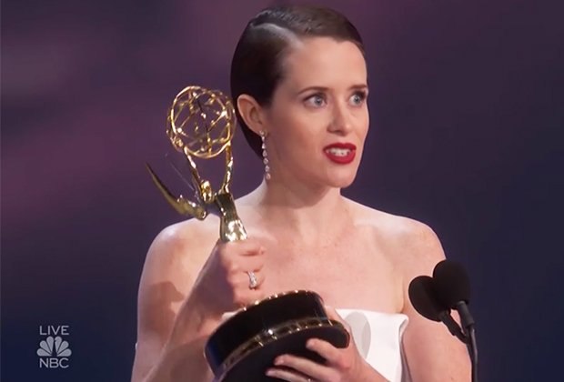 Claire Foy Wins Emmy for The Crown, Says Goodbye to 'Extraordinary' Role
