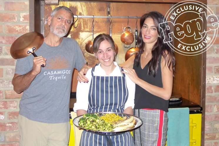 George and Amal Clooney's Chef Dishes on Their Favorite Foods—and the Adorable Thing Their Twins Do When They Like a Meal