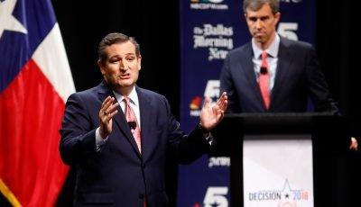 Cruz, Beto  O'Rourke trade attacks during testy first debate