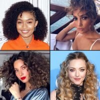 Celebs With Curly Hair!
