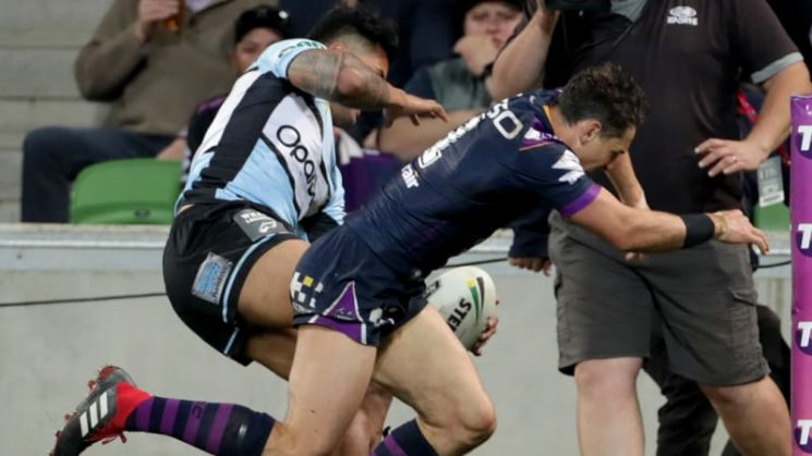 Billy Slater set to miss NRL grand final through suspension
