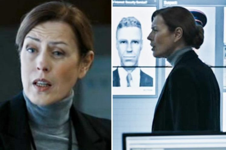 Bodyguard exclusive clip shows Commander Anne Sampson sweating under pressure as they draw close to finding Julia Montague's killer