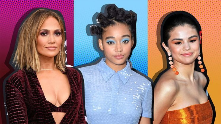 17 Times Stylish Celebs Matched Their Makeup & Wardrobe