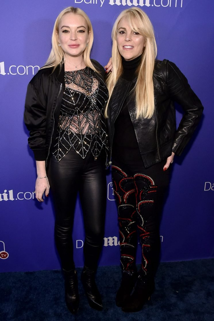 Lindsay Lohan's Mom Dina Files for Bankruptcy to Save Her Home from Auction after Foreclosure