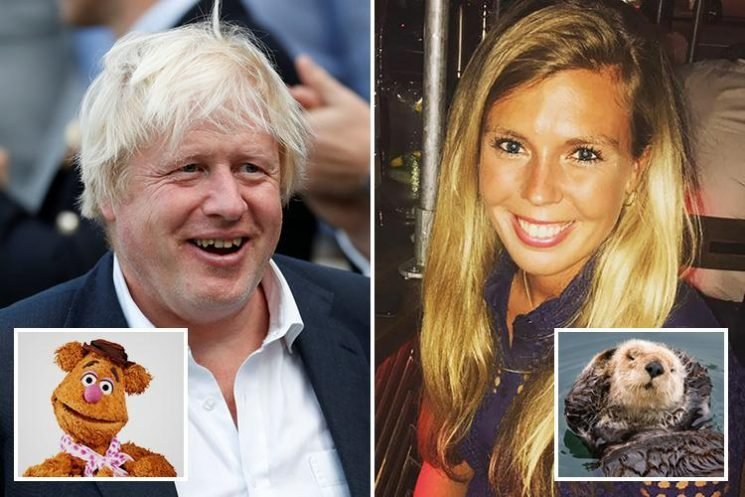 Boris Johnson and his sexy aide Carrie Symonds 'have secret pet names for each other' — and he's a 'bear'