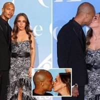 Chloe Green and Jeremy Meeks make red carpet return as they kiss and cuddle at first public appearance since their son was born