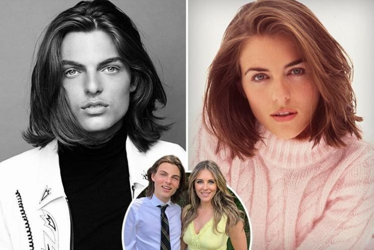 Elizabeth Hurley's son Damian looks the spitting image of model with the same pout in flawless Instagram shots