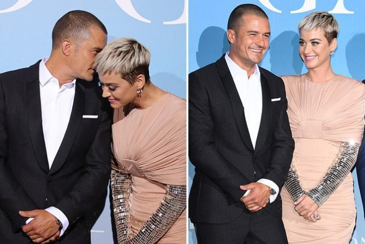 Katy Perry and Orlando Bloom make their red carpet debut after dating on and off for two years
