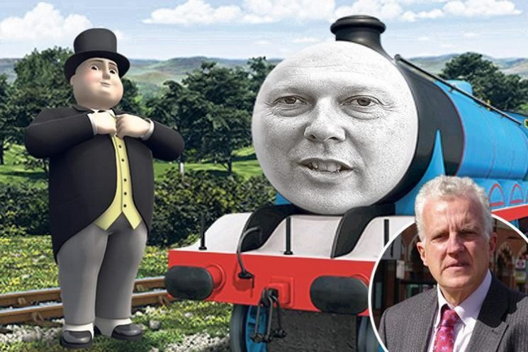 No one's taking blame for the rail fiasco so it's time for a Fat Controller to sort out Chris the Rank Engine
