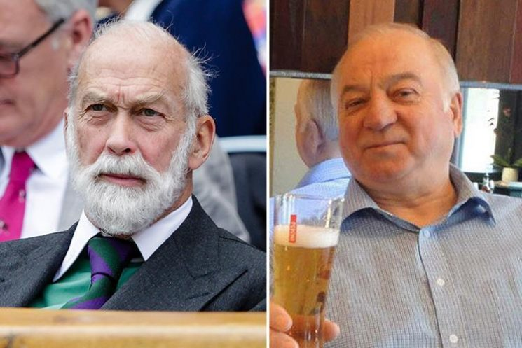 Prince Michael of Kent dodged a ban on royal visits to Russia following outrage over the Skripal Novichok poisonings