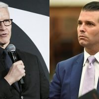 Anderson Cooper Fires Back After 'Idiotic' Trump Jr. Accuses Him Of Lying About Hurricane Flooding