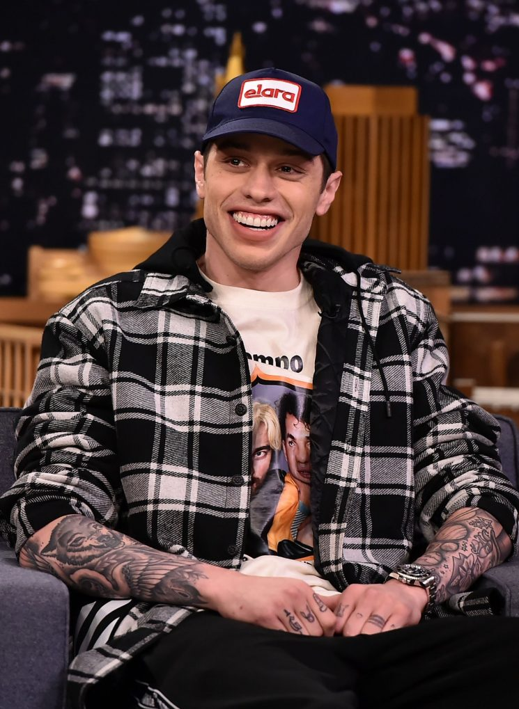 Pete Davidson Revealed The Name Of Ariana Grande's Pet Pig With His New Tattoo