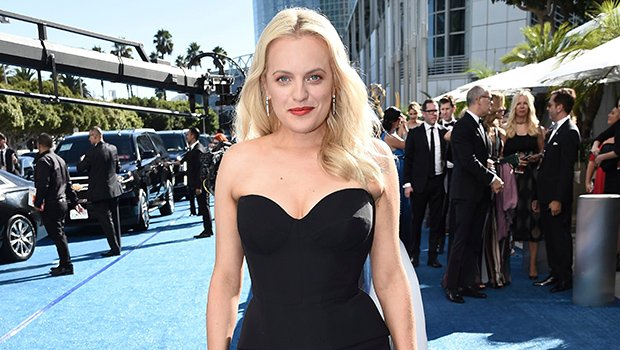 Elisabeth Moss Keeps It Simple, But Sexy, In Strapless Black Dress At 2018 Emmys