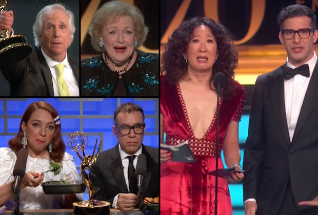 Emmys 2018: The 15 Best, Worst and Weirdest Moments From the Ceremony