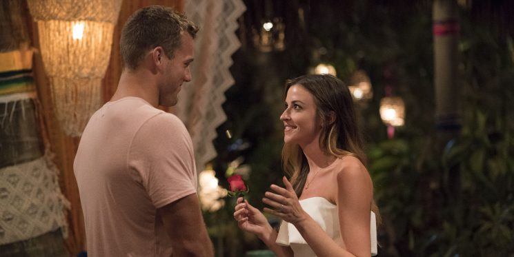 Tia Booth Reacts to Ex Colton Underwood Getting Picked for 'The Bachelor'