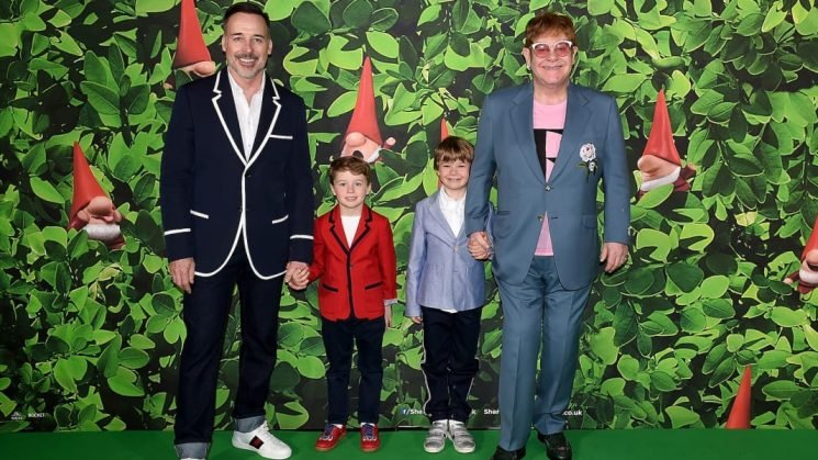 Elton John's Back-to-School Pics of His Sons Prove He's Just a Dad