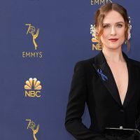 Evan Rachel Wood Looks Gorgeous At Emmys — See Spectacular Black Tuxedo Look