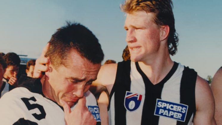 I touched it: Nathan Buckley reveals 1994 finals anguish