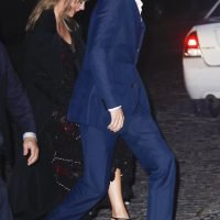 Taylor Swift and Joe Alwyn Show PDA as Singer Supports Boyfriend on His Big Night