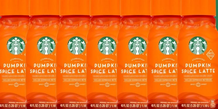 Holy Fall: Walmart Is Selling 40-Ounce Starbucks' PSL's