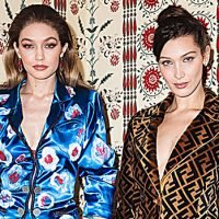 Bella Hadid Strips Naked And Big Sis Gigi Is All For It — See The Sisterly Love