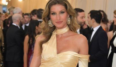 Gisele Bündchen is unrecognizable on the cover of Vogue Italia
