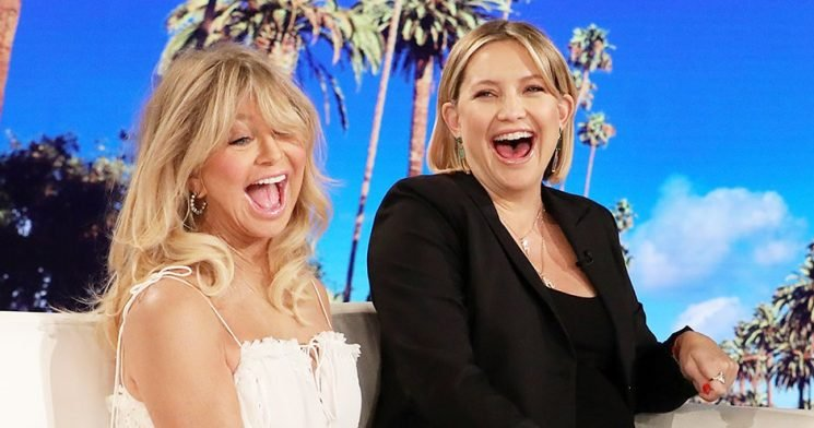 Goldie Hawn Once Gave Pregnant Kate Hudson a Bizarre Delivery Room Gift