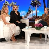 Pregnant Kate Hudson Says Her 'Water Could Go Any Second' During Ellen Visit with Mom Goldie Hawn