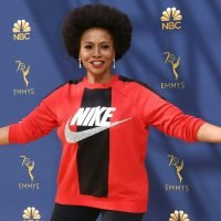 Actress Jenifer Lewis Wears Nike To the Emmys To Support Kaepernick