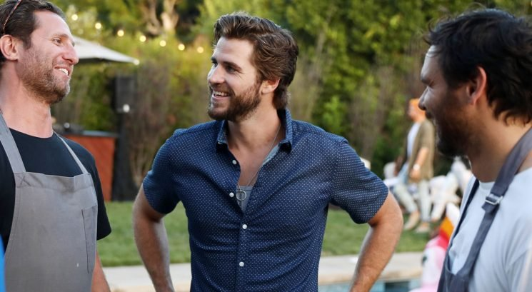 Liam Hemsworth Enjoys a Taste of Australia in Beverly Hills!