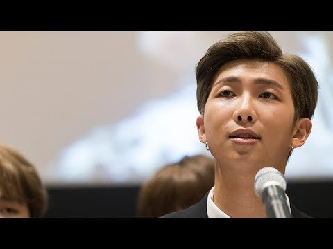 BTS' Kim Namjoon Inspires The World With Amazing United Nations Speech!