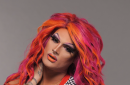 Drag Queen Rhea Litre's Hot Pink Look Is Quite Literally Fire