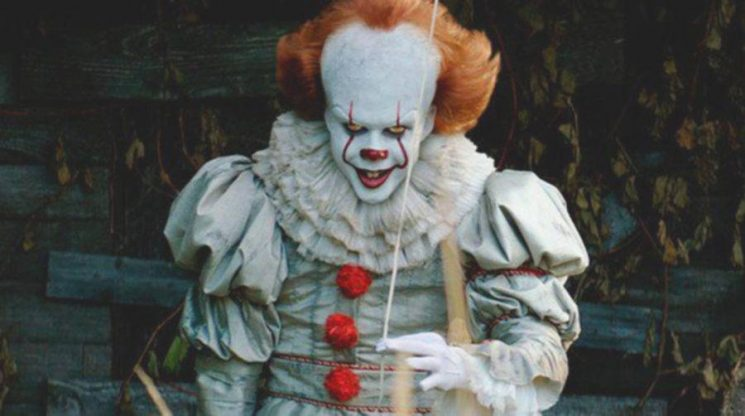 New 'It: Chapter 2' Set Photos Show Pennywise and Bill Hader (Laughing?)