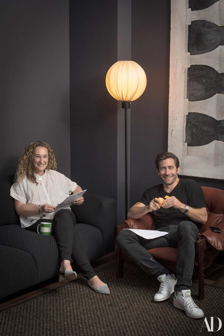 Jake Gyllenhaal Taps a Childhood Friend to Decorate His Personal, Playful New York City Office