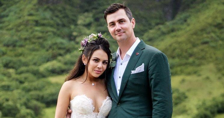 Janel Parrish and Chris Long's Hawaiian Wedding: Pics