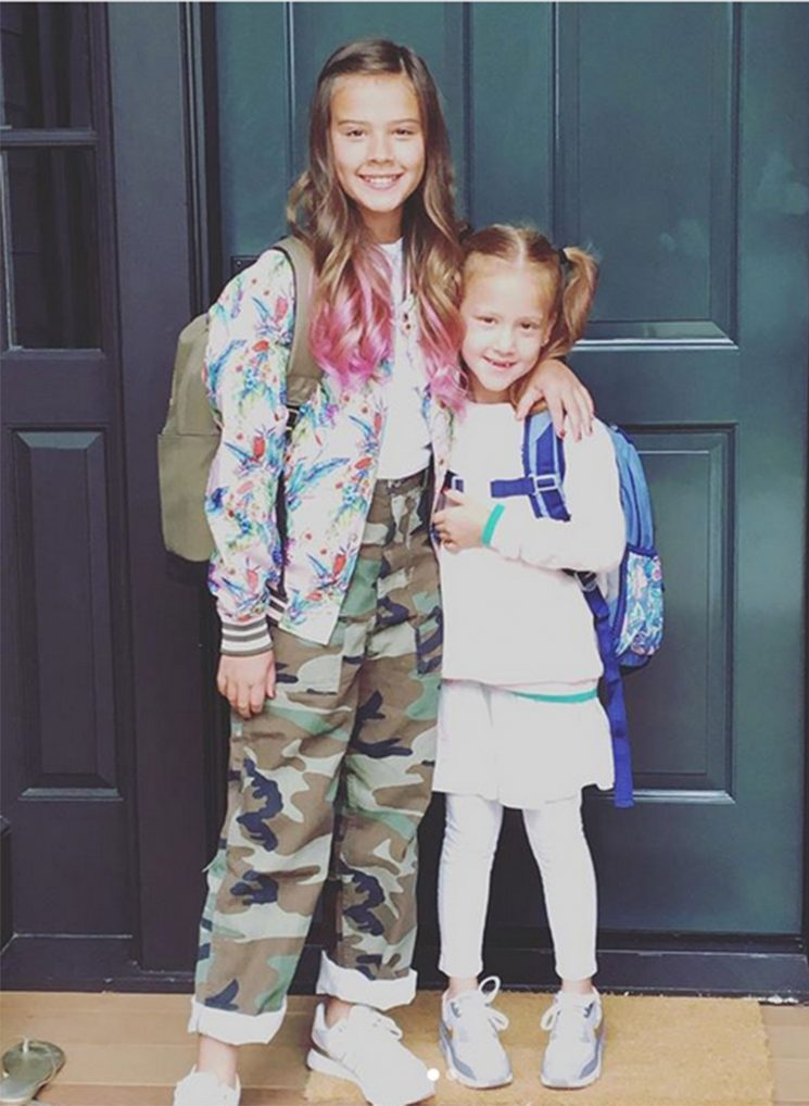 Jessica Alba Shares Photos from Daughters' First Day of School – See Honor's Fun Highlights