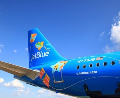 JetBlue Unveils New Plane to Promote Tourism in Puerto Rico One Year After Hurricane Maria