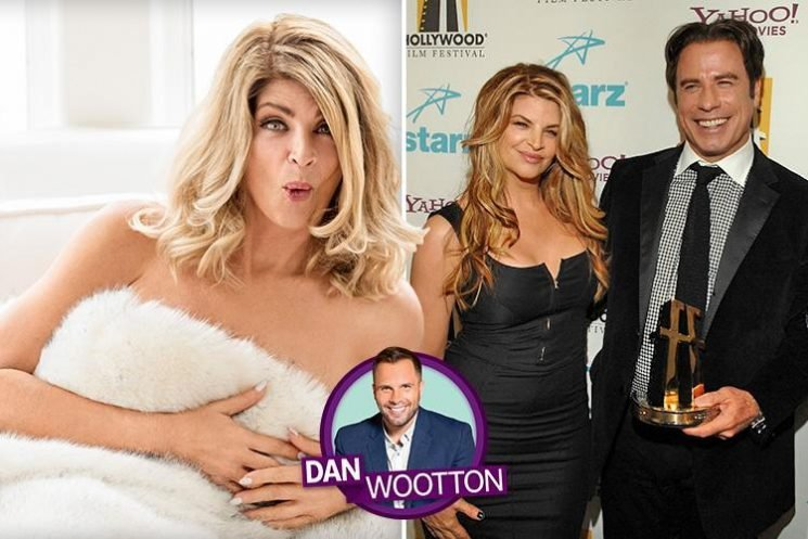 Celebrity Big Brother star Kirstie Alley slams rumours that John Travolta is gay and insists they were in love — but she 'wouldn't leave her husband for him'