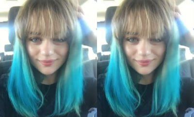 Joey King Dyes Hair Blue; 'Kissing Booth' Actress Colors Her Own Head