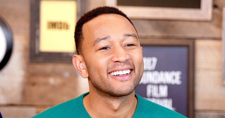 John Legend's Son Recreates His Baby Photo Shoot — See the Side-by-Side Pics