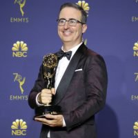 "John Oliver On Lack Of Trump Talk At The Emmys: ""Can't Drink The Pain Away"""