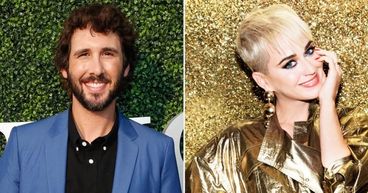 Josh Groban Spat Out His Coffee When Katy Perry Said He's the 'One That Got Away'