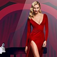 Karlie Kloss Channels Jessica Rabbit In Sexy Red Dress For Carolina Herrera