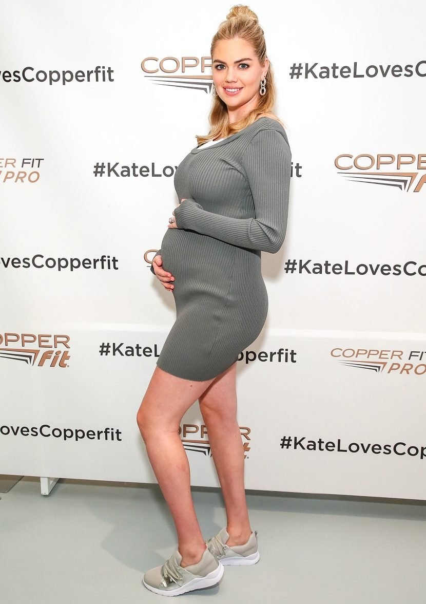 Pregnant Kate Upton Says Husband Justin Verlander 'Was the Most Excited About Weird Cravings'