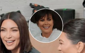Kim, Kourtney, and Kendall Make a Fool Out of Mom Kris Jenner on 'You Kiddin' Me?!' Prank Show