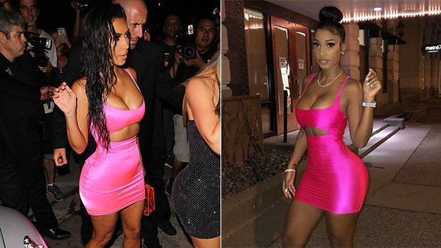 Bernice Burgos Vs. Kim Kardashian: Who Rocked The Hot Pink Dress Better? See Sexy Pics