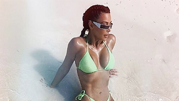 Kim Kardashian's 18 Hottest Pics Of Summer 2018: Every Time She Showed Off 20 Lb. Weight Loss