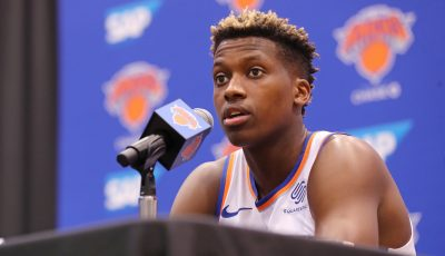 Frank Ntilikina debuts new body, height and even position