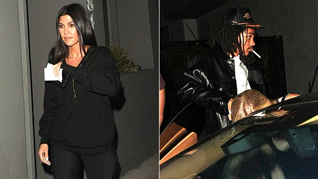 Kourtney Kardashian, 39, & Rumored BF Luka Sabbat, 20, Spotted On Dinner Date: Romance Heating Up?